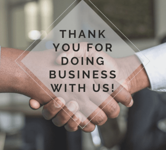 Thank You From Chip Sollins